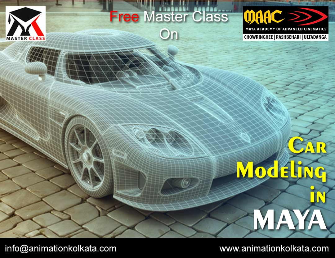 Free Master Class on Car Modeling in Maya